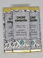 Crispy 75% Dark Chocolate Ivory Coast